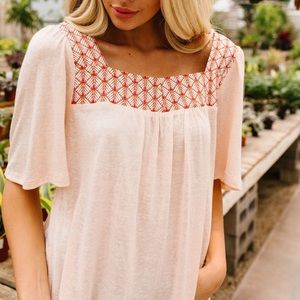 All Squared Away Blouse